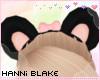 Kids Panda Ears w/Bow