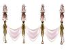 cintas de boda rosa