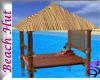 *Log Cabana Beach Hut