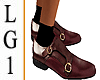 LG1 Burgundy Leather