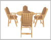 Light wood Table/Chairs