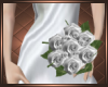 White Rose Wedding Bunch