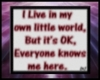 [k] my world