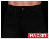 H@K Black Jeans