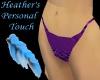 ~h~purple bikini bottoms