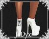Platform Sneakers -White