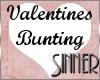 Valentines Bunting Dusky