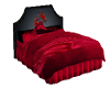 Red Cuddle Bed w/dragon