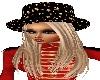 *PFE Blonde + star  hat