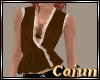 Bronze Velvet n Lace Top