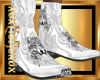 [L] WOLF White Boots M