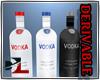 Vodka Bottles Decore