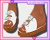 ➸ Sandals (white)