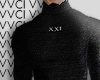 XXI Black Turtleneck