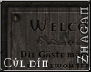 [Z] Welcome Sign