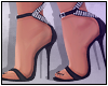 Valentina Heels Black