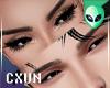 Unisex F/M Eyes Left