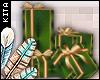 K! Green/Gold Presents