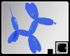 ` Blue Balloon Dog