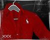 [X] Red Dress Shirt.