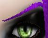 (M) Thin Purple Eyebrows