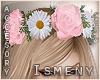 [Is] Pink Rose Headband