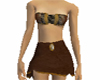 celtic skirt and top