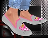 Pink Panther loafers