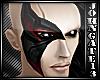 Red Assassin Half Mask