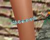 Teal Tennis Bracelet