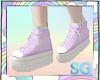 SG Platforms Pastel Purp