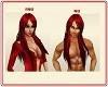 Red Long Hair Male/Femal