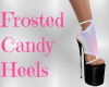 Frosted Candy Heels