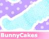 baby blue fluffy [socks]