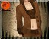 Brown suede western suit