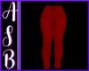 Ladies M Red Pants