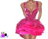 flirty pink bling dress