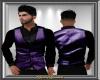 Purple Vest w Shirt