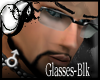 !P!Glasses-BLACK