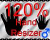 *M* Hand Scaler 120%