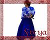 ED!Kimono Samurai Azul