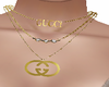 Gucci neckless