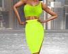 Evening Dress Lime