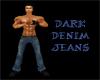 (20D) dark denim jeans