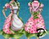 Strawberry Apron Dress