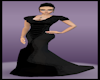 Regency Black Gown