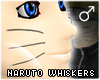 !T Naruto whiskers [M]