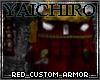 Red Custom Armor