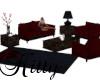 (K)RedVelvet couch set