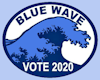 Vote Blue Sign